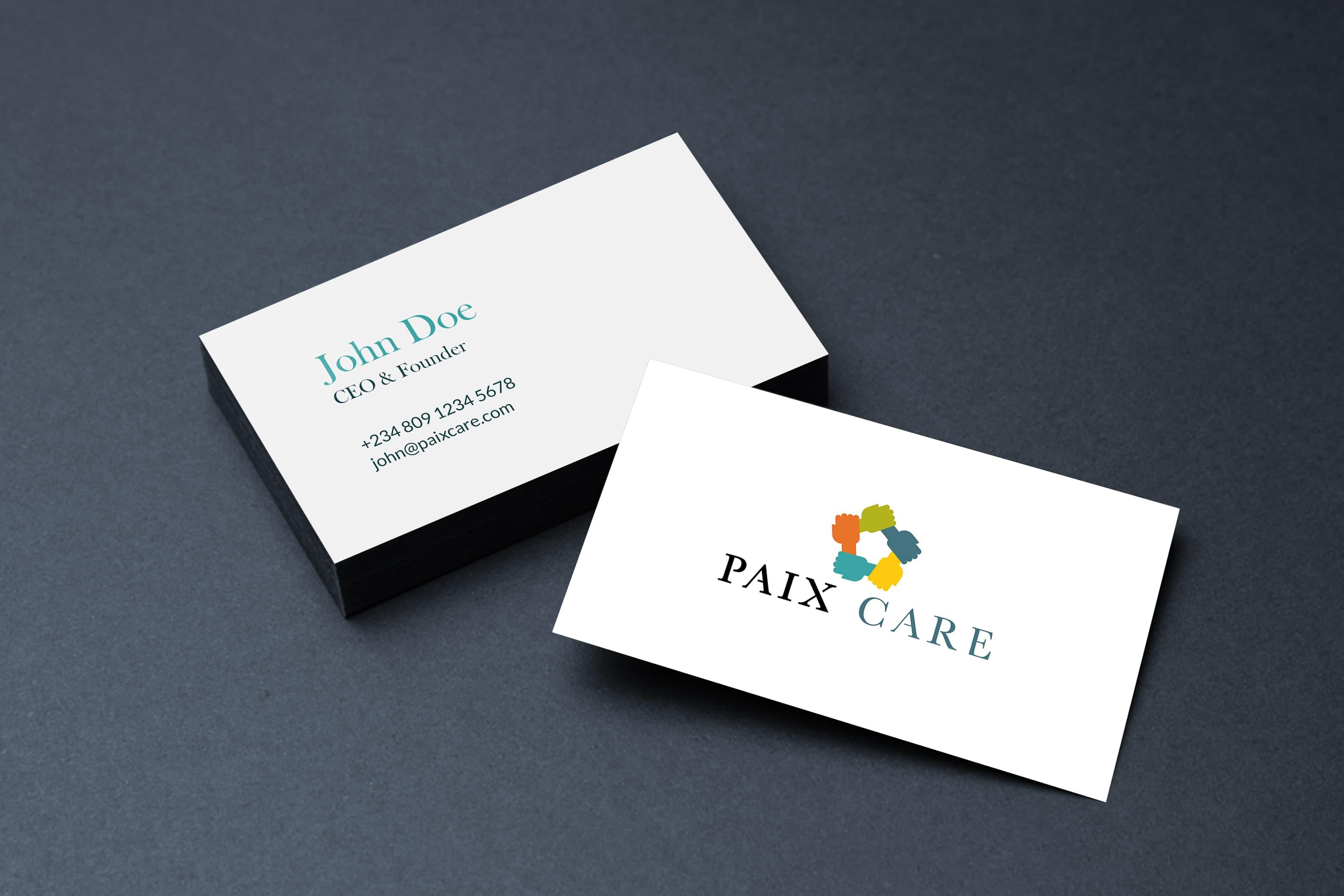 Paixcare branding